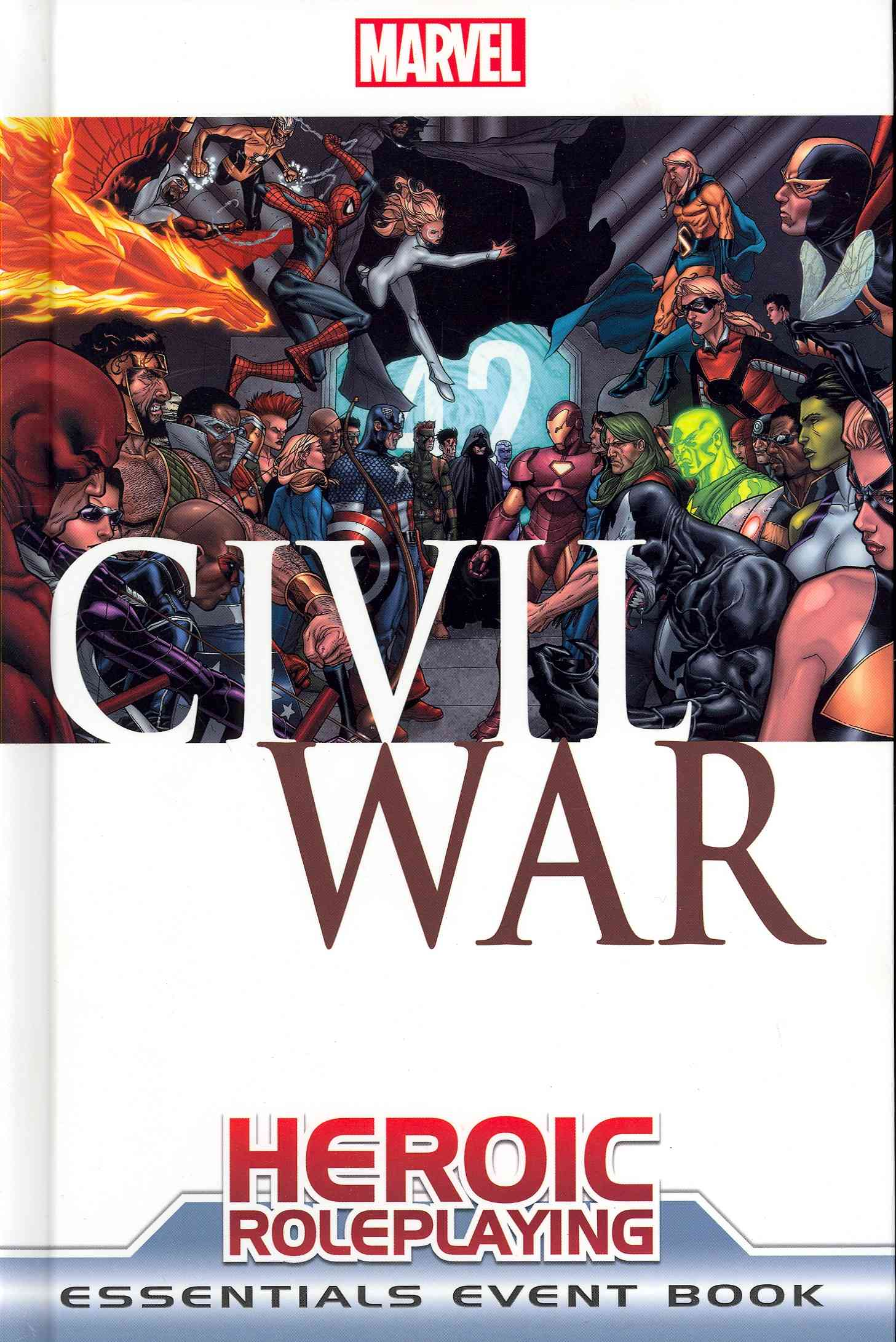 Marval Heroic Roleplaying Civil War Essentials Event Book (Hardcover)
