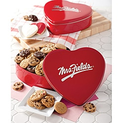 Mrs. Fields Classic Cookie Nibblers Heart Tin