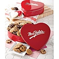 Mrs. Fields Classic 60 Cookie Nibblers Heart Sampler Tin