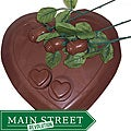 Lang's Chocolates Milk Chocolate Sweet Heart Valentine's Day Package
