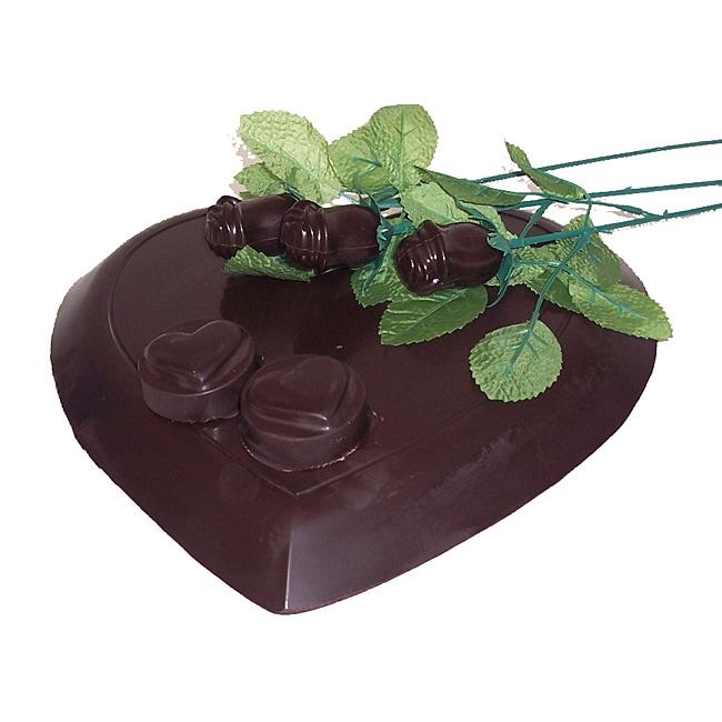 Lang's Chocolates Dark Chocolate Sweet Heart Valentine's Day Package