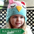 Knitnut by JL Child's Cotton Crocheted Owl Hat