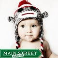 Knitnut by JL Child's Cotton Crocheted Sock Monkey Hat
