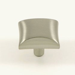 Stone Mill Hardware Satin Nickel Bella Cabinet Knobs (Pack of 25)