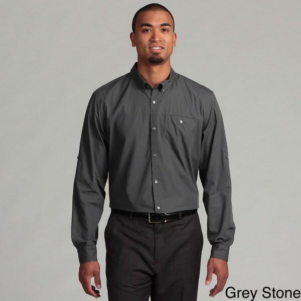 Calvin Klein Men's Mini Check Woven Shirt