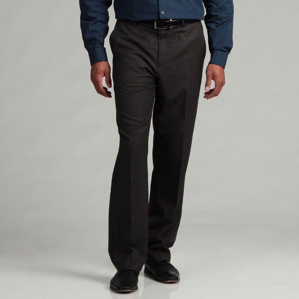 Calvin Klein Men's Charcoal Micro Check Pants