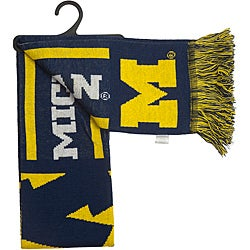 Michigan Wolverines NCAA Acrylic Scarf
