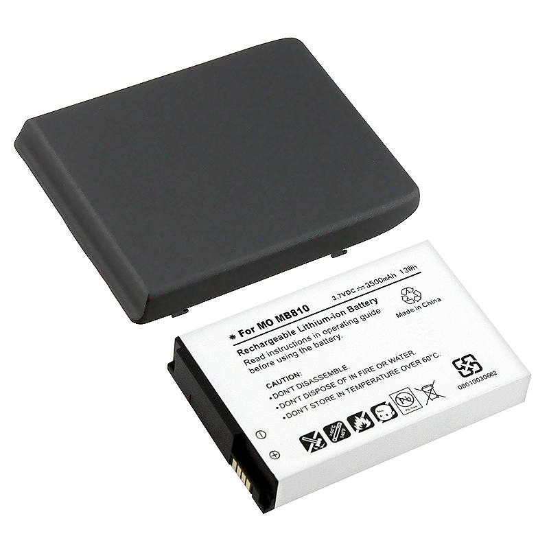 INSTEN Compatible Extended Li-ion Battery/ Cover for Motorola Droid X MB810