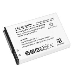 Compatible Extended Li-ion Battery/ Cover for Motorola Droid X MB810