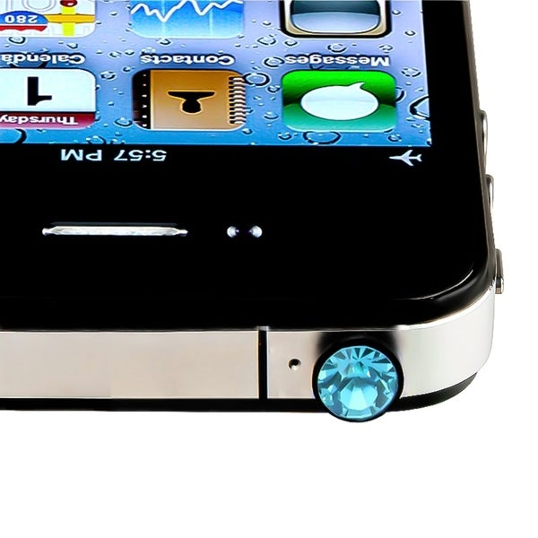 INSTEN Diamond Headset Dust Cap for Apple iPhone 4S/ 5S/ 6/ iPod