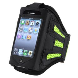 Black/ Green SportBand for Apple iPod Touch 2nd/ 3rd Generation