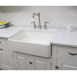 Fireclay Butler Large 29.5-inch Kitchen Sink