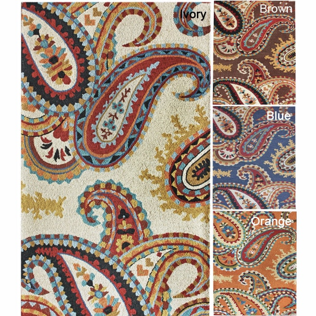 nuLOOM Handmade Paisley Wool Rug (4' x 6') at Sears.com