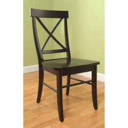 Easton Crossback Rubber Wood Chair