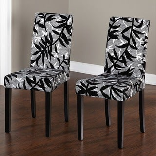 Leather parsons dining room chairs