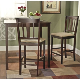 Stratton Rubber Wood 24-inch Stools (Set of 2)