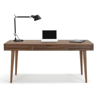 64-inch Solid Wood Desk