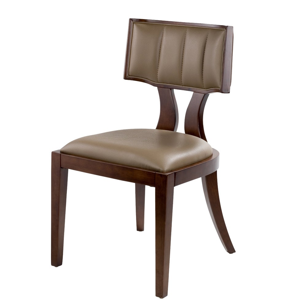 Zeus Leather Dining Chairs Set Of 2 Overstock Shopping Great Deals On C