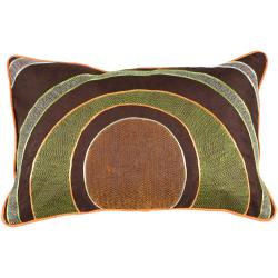 Kenny Brown Mod 13-inch x 20-inch Down Decorative Pillow