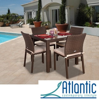 Atlantic 'Liberty' Wicker 5-piece Dining Set