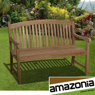 Amazonia 'Hartford' 4-foot Teak Bench