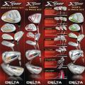 Delta Golf Women's X-2400 Complete Bag and Clubs Set