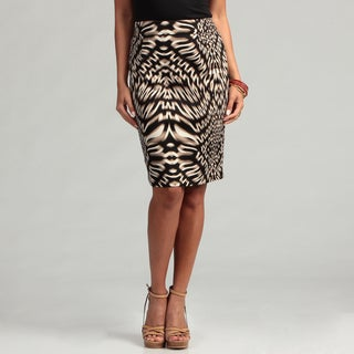 Calvin Klein Women's Printed Pencil Skirt