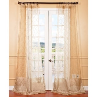 96 inches sheer curtains
