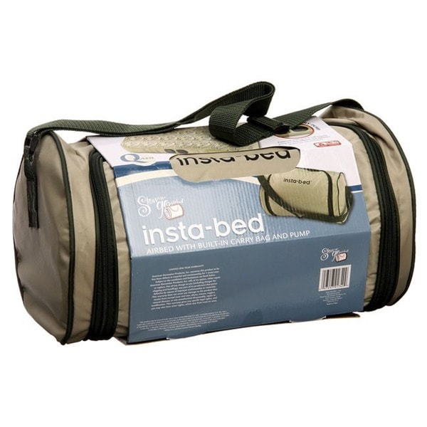 Instabed Stow N Go Queen Print Top Airbed