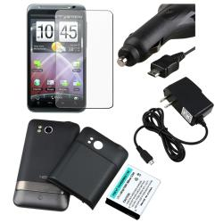 Extended Battery/ Chargers/ LCD Protector for HTC ThunderBolt 4G