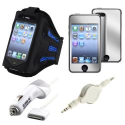 INSTEN Armband/ Screen Protector Charger/ Cable for Apple iPod Touch 3rd Gen