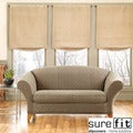 Sure Fit Brown Stretch Baxter 2-Piece Sofa Slipcover