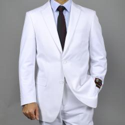 Giorgio Fiorelli Men's White Two-button Suit