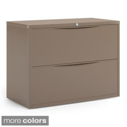 Mayline CSII Freestanding Two Drawer Lateral File Cabinet