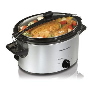 Hamilton Beach 33249 Stainless Steel 4-quart Slow Cooker