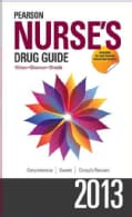 Pearson Nurse's Drug Guide 2013: Retail Edition