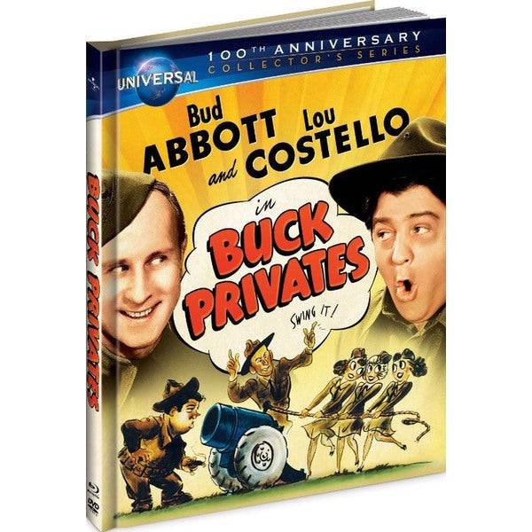 Buck Privates DigiBook (Blu-ray/DVD) 8754007