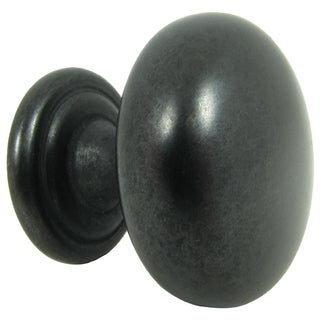 Stone Mill Hardware Antique Black Caroline Cabinet Knob (Case of 10)