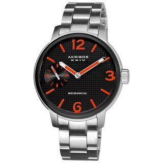 Akribos XXIV Men's Mechanical Bracelet Watch