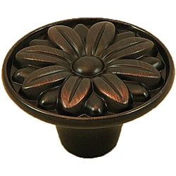 Stone Mill Hardware Oil Rubbed Bronze Mayflower Cabinet Knob (Pack of 25)
