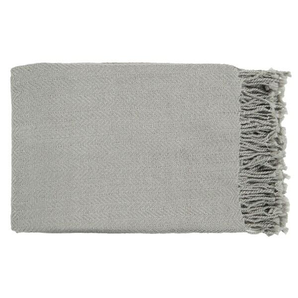 Woven Saki Acrylic Throw Blanket