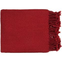 "Woven Angora Acrylic Throw Blanket (50"" x 60"")"