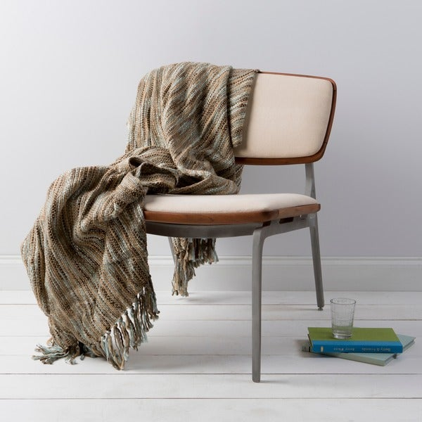 Grizzly Woven Acrylic Throw