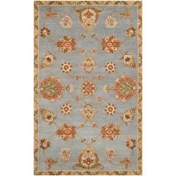 Hand-tufted Light Blue Asteri Wool Rug (9' x 13')