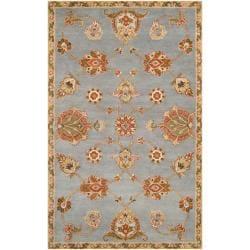 Hand-tufted Light Blue Asteri Wool Rug (9' x 13')