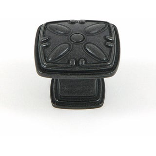 Stone Mill Hardware Antique Black Edinburgh Cabinet Knobs (Pack of 25)