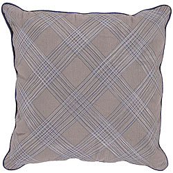 Bole Gray Down Decorative Pillow