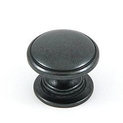 Stone Mill 'Saybrook' Black Cabinet Knobs (Pack of 25)