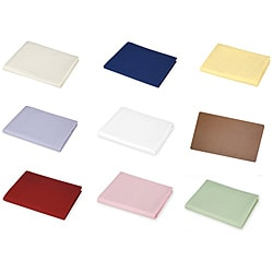 ABC Solid Colors Cotton Percale Crib Sheet