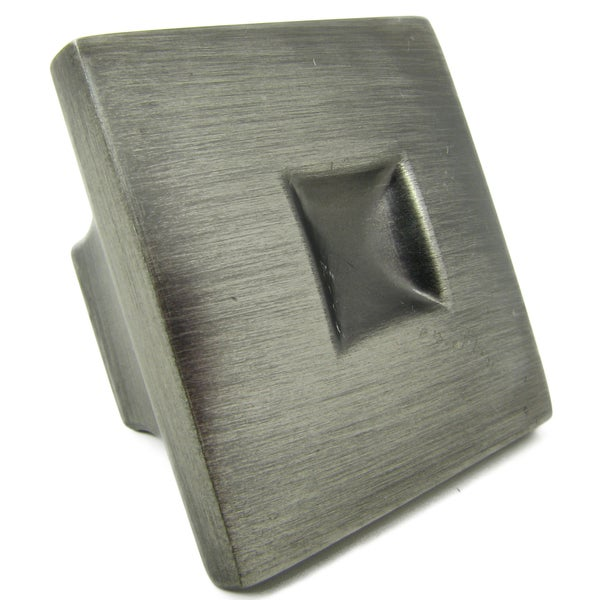 Stone Mill 'Spade' Weathered Nickel Cabinet Knobs (Pack of 25)